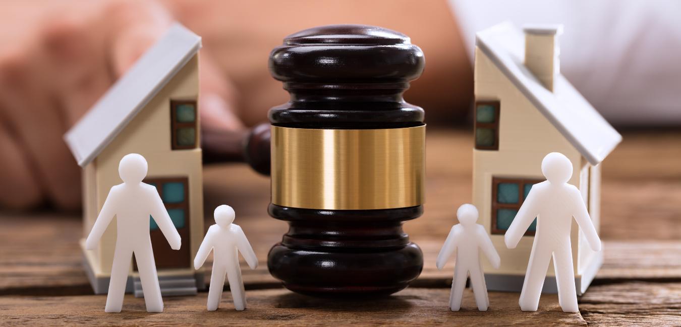 scheiding in huis blijven wonen